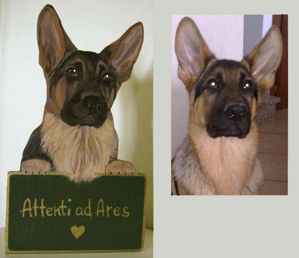 Pastore tedesco cani da sogno for Arredamento pastore